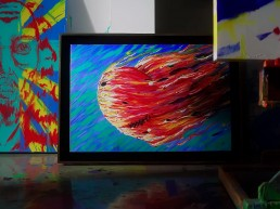 Jim Carrey, 'la máscara' oculta de un artista en color