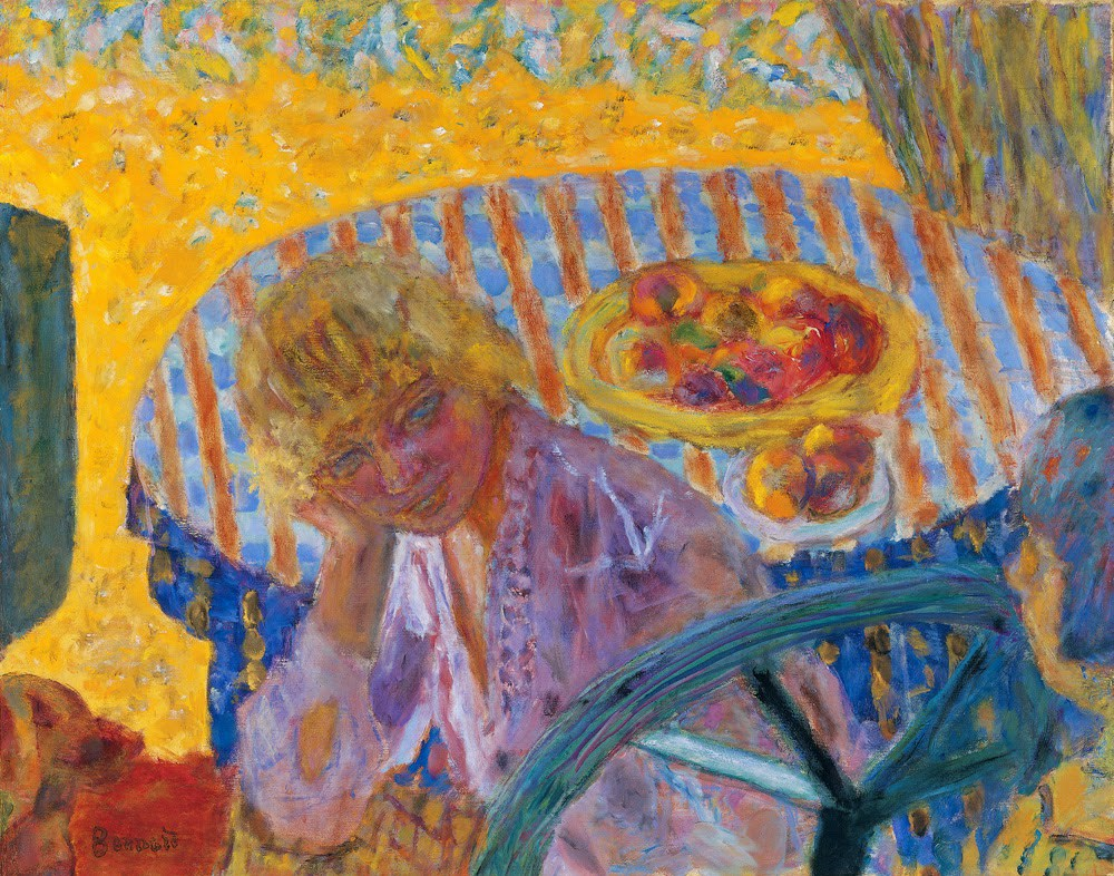 © Pierre Bonnard. Young Woman, 1921