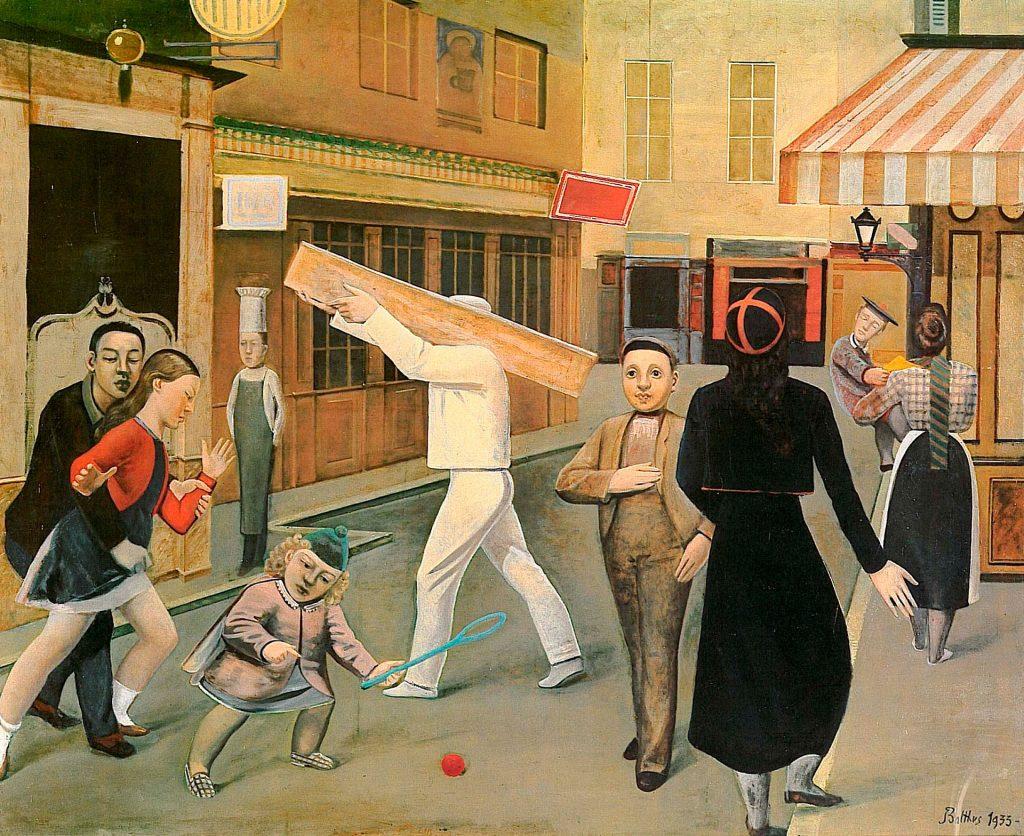© Balthus. The Street, 1933