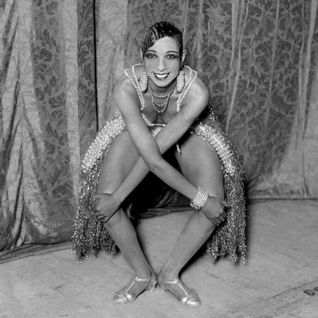 Retrato de Josephine Baker 1930. Fotografía © Ricardo Martín