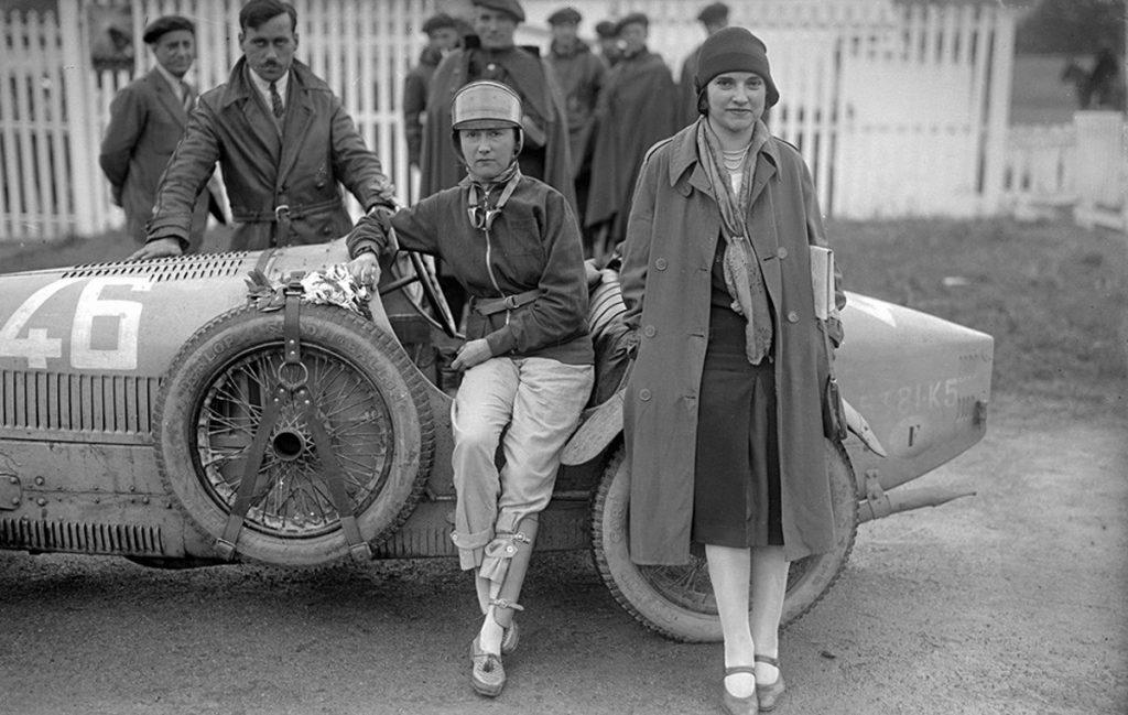 Mujeres piloto en el circuito de Lasarte. Fotografía © Ricardo Martín
