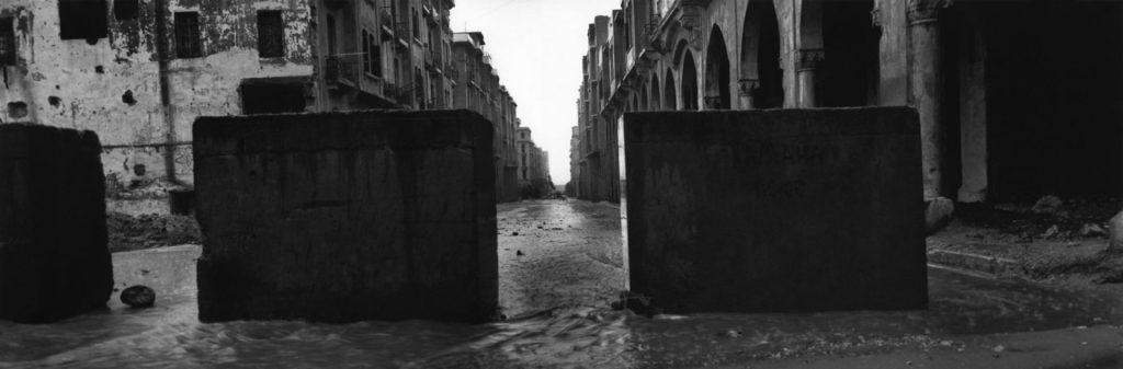Fotografía © Josef Koudelka - Líbano. Beirut. 1991 / La influencia de la relación aspecto en el mensaje.