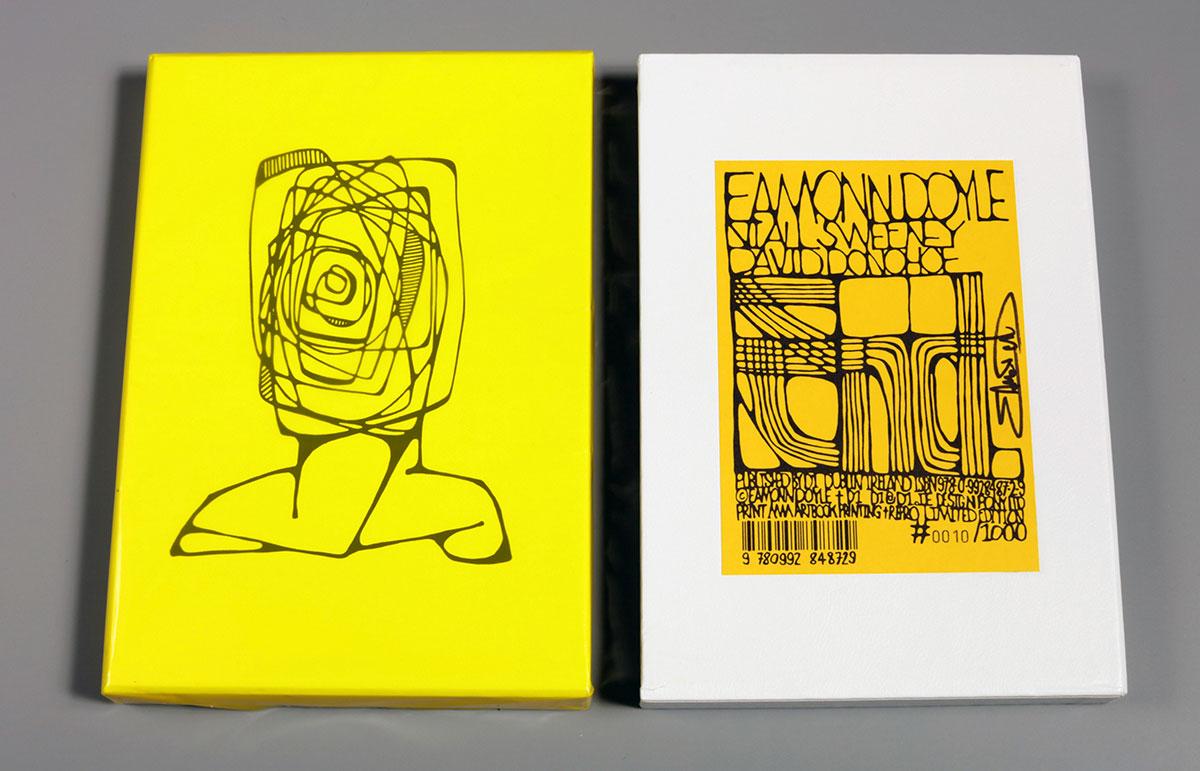 """Portada """"End"""", de Eamonn Doyle"""