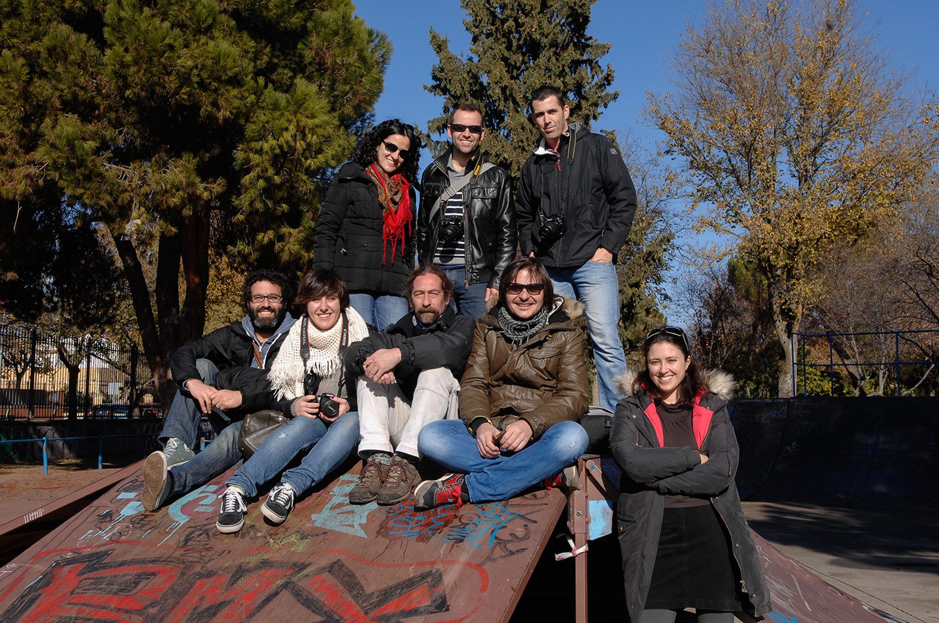 Fotografía grupo Alumbre Colectivo