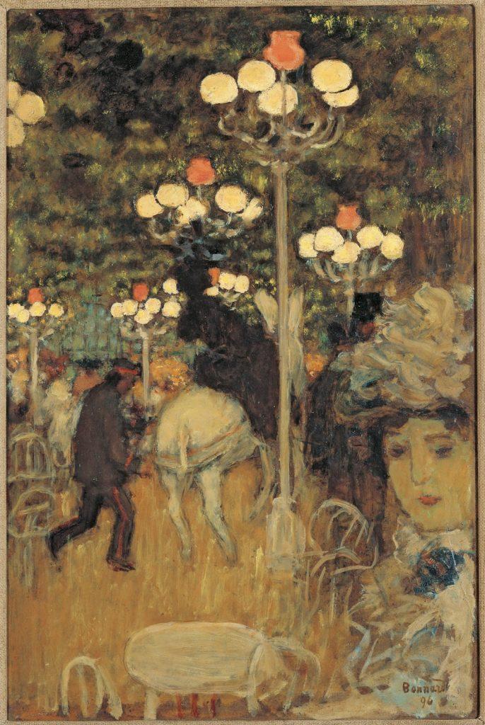 © Pierre Bonnard. Café dans le Bois 1896.