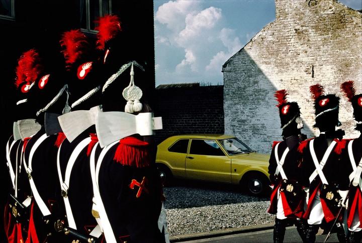 BONNARD UNA MANERA DE ENTENDER EL COLOR. Fotografía © Harry Gruyaert Bélgica 1981