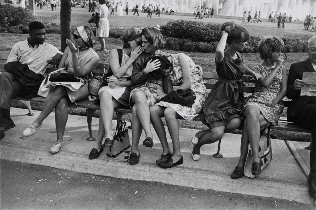 Fotografía © Garry Winogrand. New York, 1964
