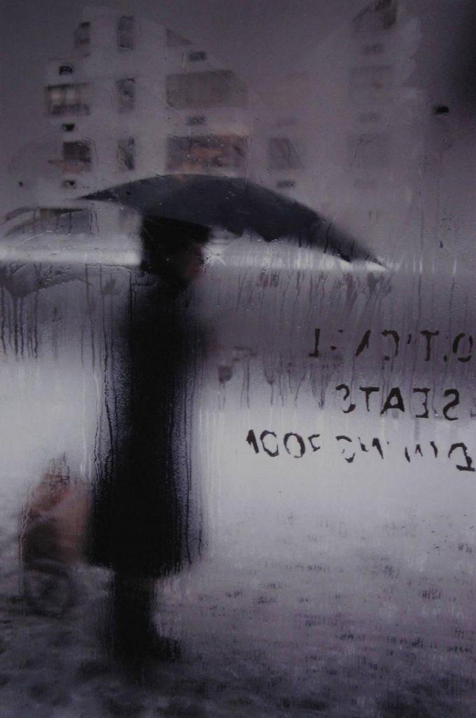 Fotografía © Saúl Leiter. Nueva York 1960